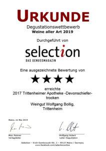 2017 Trittenheimer Apotheke Devonschiefer trocken